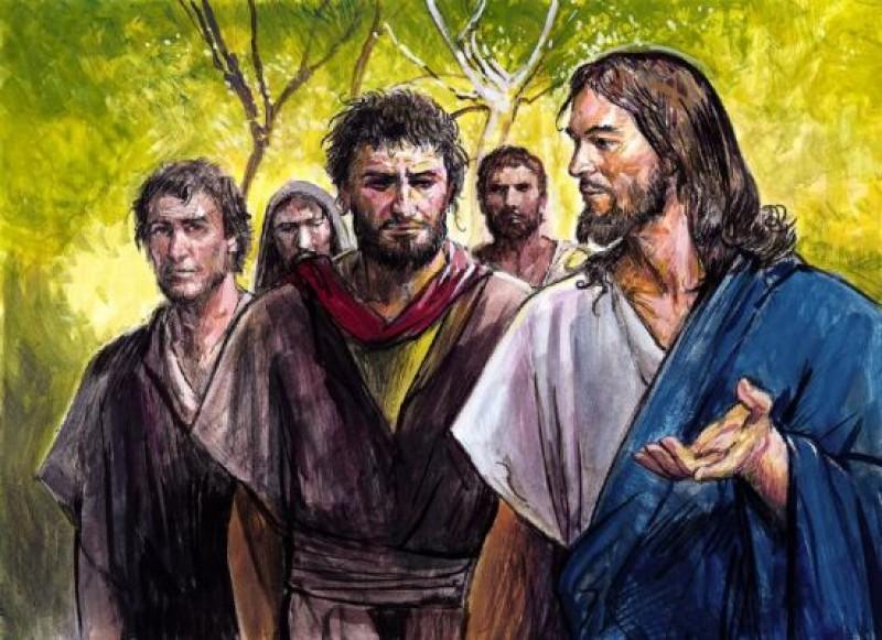 Jezus Chrystus wzywa ludzi do wspólnoty życia z Trójcą Świętą